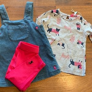 NWT Joules 3 piece outfit